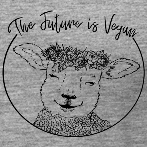 The Future is Vegan - Women's Premium Tank Top