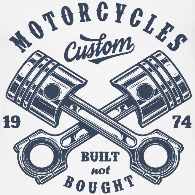 Motorrad benutzerdefinierte Vintage Biker