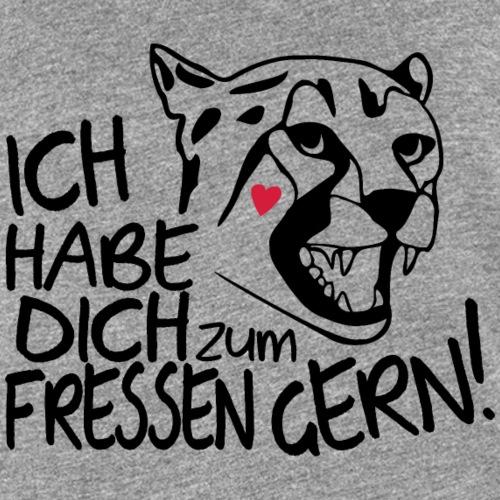 Zum Fressen Gern Haben Herz Liebe Partner Spruch - Frauen Premium Tank Top