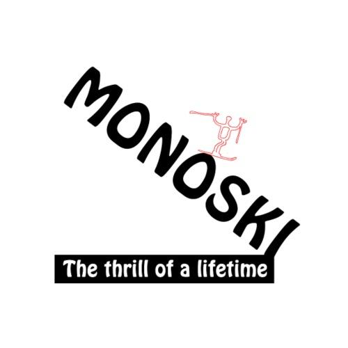 monoski thrill downhill - Premiumtanktopp dam