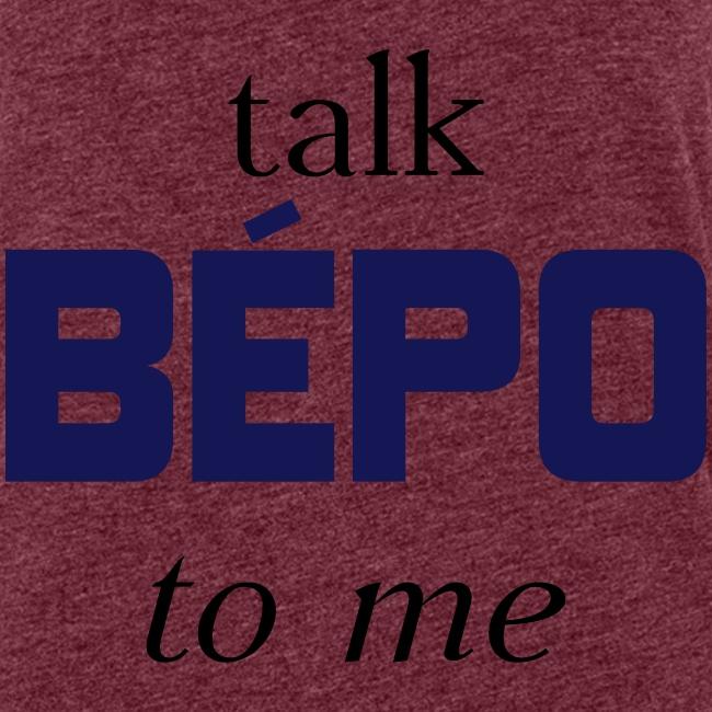 talk bépo new