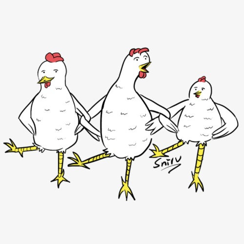 Chicken Dance [original] - Vrouwen Premium tank top