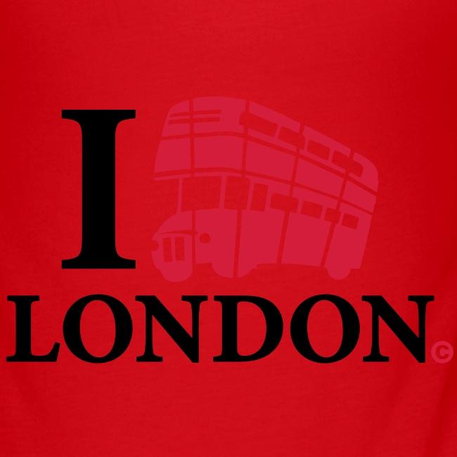 I love (Double-decker bus) London