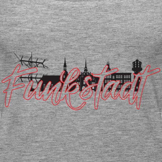 Funkstadt Shirt black / red