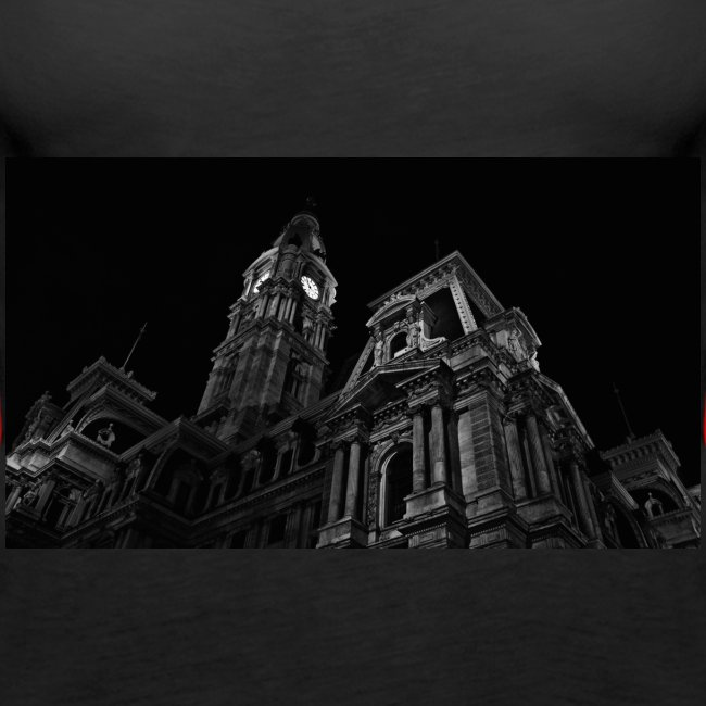 Black and white hd building full in