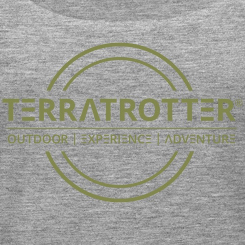 Terratrotter® | Green - Women's Premium Tank Top