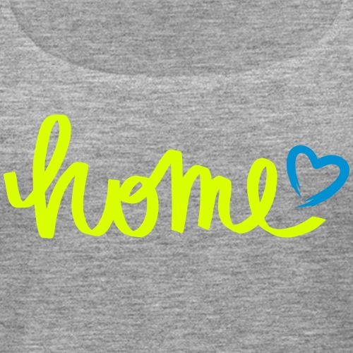 HOME with a heart - Women's Premium Tank Top