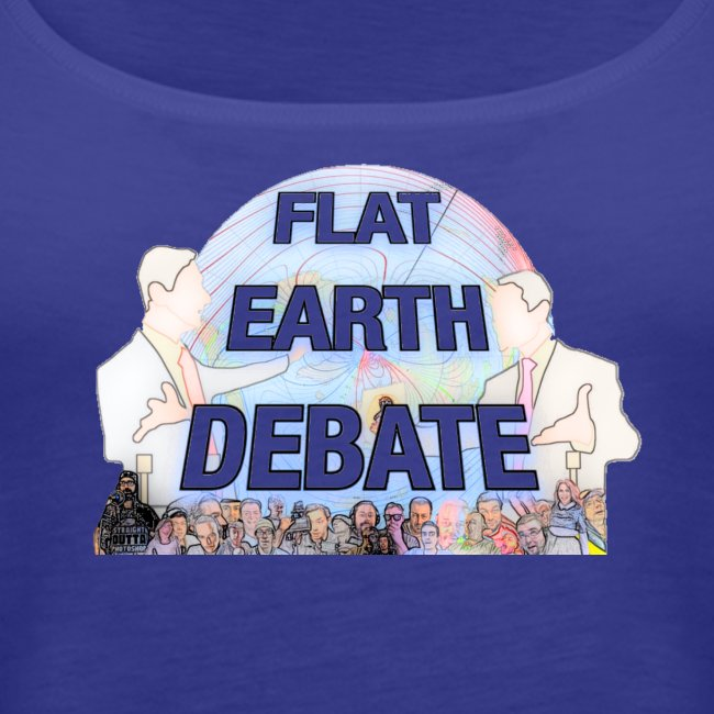 Flat Earth Debate Cartoon