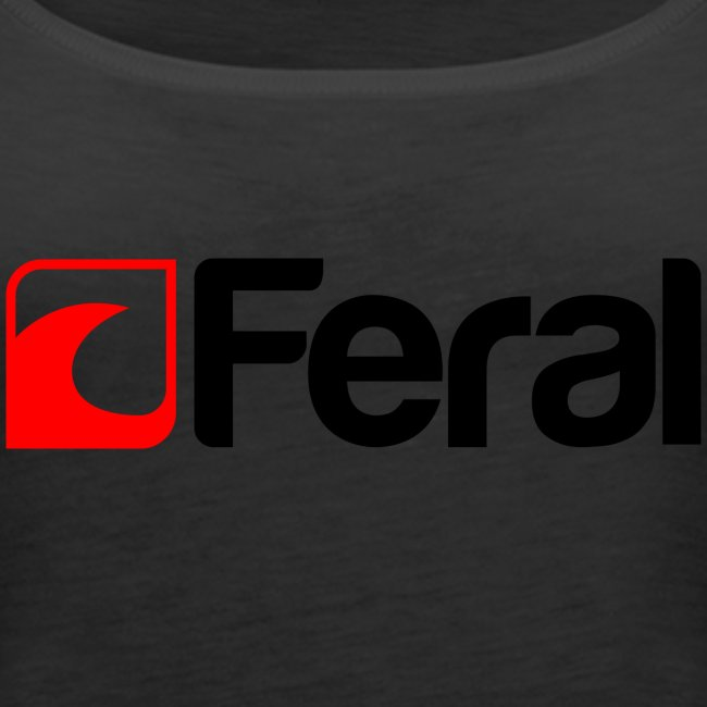 Feral Red Black