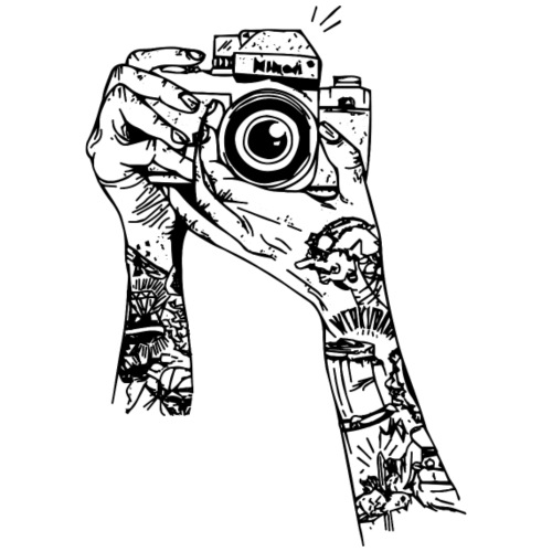MACCHINA FOTOGRAFICA - Canotta premium da donna