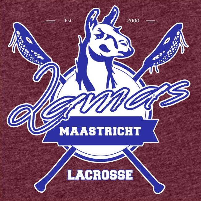 Llamas - Maastricht Lacrosse - Blauw