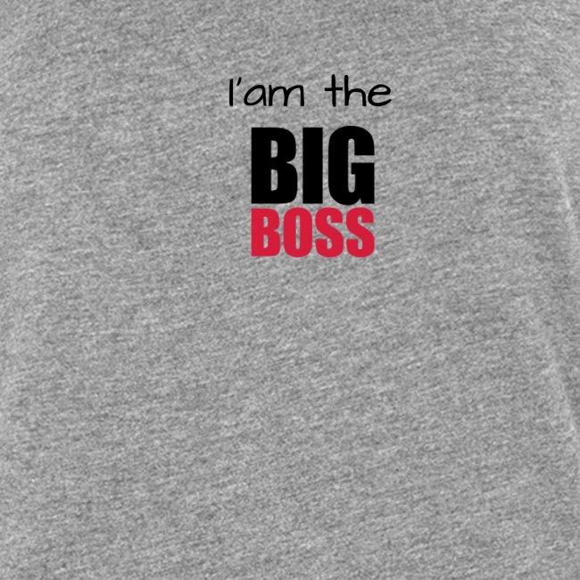 I am the big boss