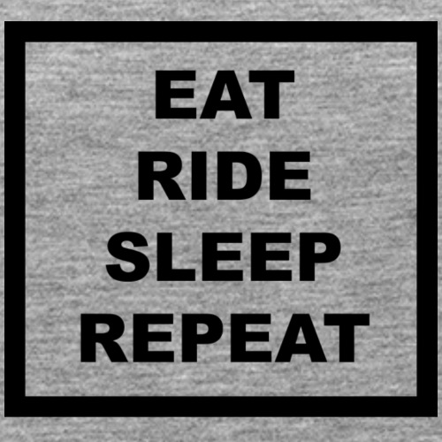 Eat Ride Sleep Black - Frauen Premium Tank Top