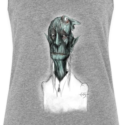T-shirt del Maniscalco Bifronte - Canotta premium da donna