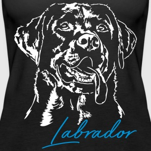LABRADOR RETRIEVER 2 - Women's Premium Tank Top