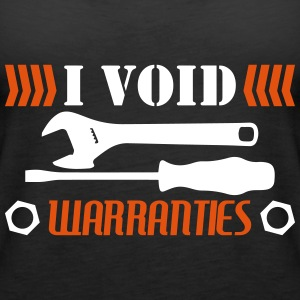 I Void Warranties - mechanic funny - Women's Premium Tank Top