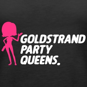 Goldstrand Party Queens - Frauen Premium Tank Top