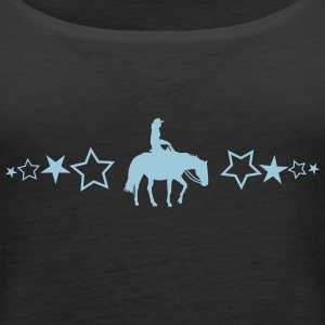Pleasure Horse with stars - Women's Premium Tank Top