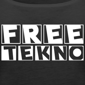 freetekno 23 - Frauen Premium Tank Top