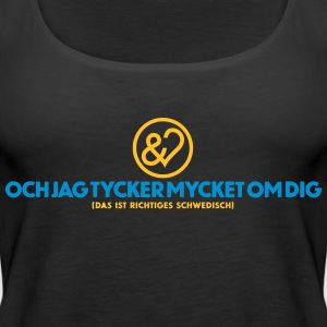 UNDICHMAGDICH in Swedish - Women's Premium Tank Top