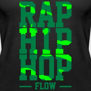 Rap Hip Hop Flow - Vrouwen Premium tank top