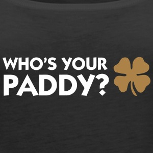 Who's Your Paddy? - Women's Premium Tank Top