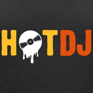 Hot DJ! - Women's Premium Tank Top