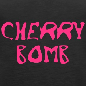 Cherry Bomb Graffiti - Tank top damski Premium