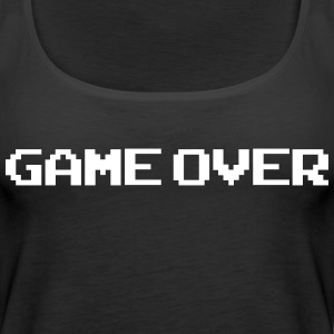 Game Over - Canotta premium da donna
