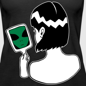 Alien in the Mirror - Ich bin ein Alien - Frauen Premium Tank Top