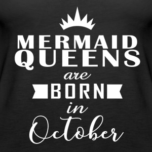 Mermaid Queens October - Women's Premium Tank Top