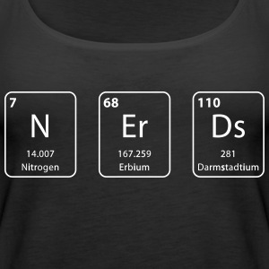 Nerds periodic table element - Women's Premium Tank Top