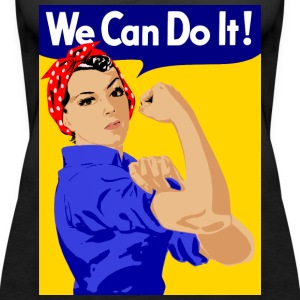 we can do it - Frauen Premium Tank Top
