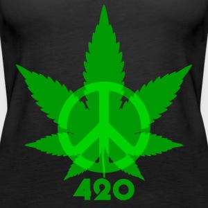 Peace 420 - Women's Premium Tank Top
