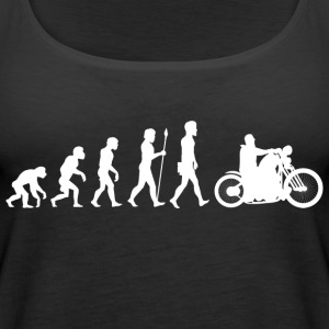 Evolution / motorcycle / motorcyclist / biker / bike - Women's Premium Tank Top