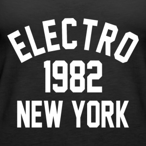 Electro 1982 in New York - Frauen Premium Tank Top