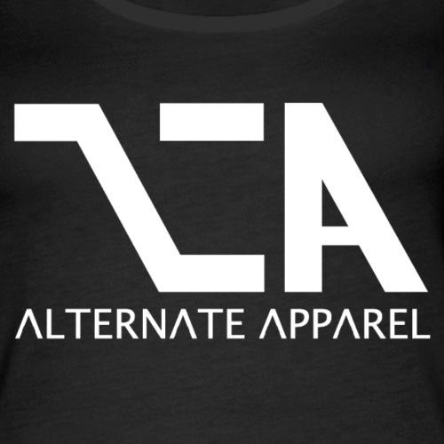 Alt A - White Logo - Women's Premium Tank Top