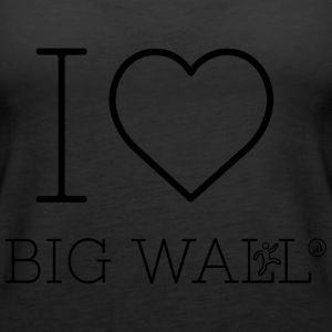 I love Big Wall - Women's Premium Tank Top