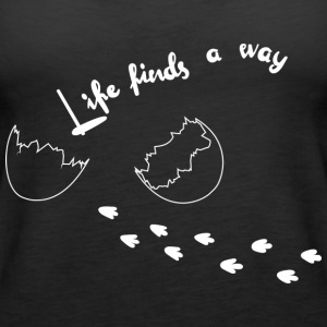 Life Finds A Way - Women's Premium Tank Top