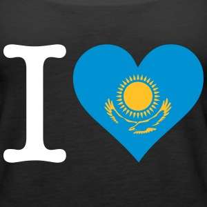 I Love Kazakhstan - Women's Premium Tank Top