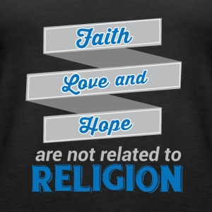 Faith Love Hope - Religion - Women's Premium Tank Top