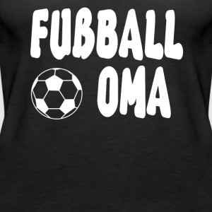 Fussball Oma Shirt - Frauen Premium Tank Top