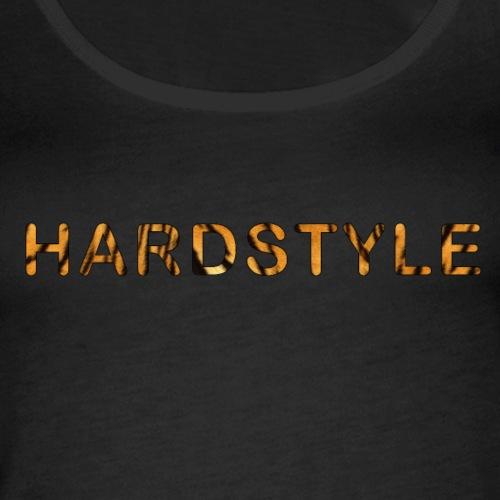 Hardstyle Tigerprint - Vrouwen Premium tank top