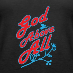 God Above All - Women's Premium Tank Top