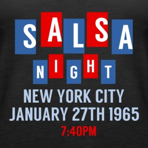 Salsa Night New York City - DanceShirts - Women's Premium Tank Top