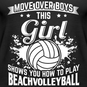 Beachvolleyball MOVEOVER boys - Women's Premium Tank Top