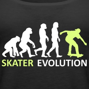 ++ ++ Skater Evolution - Premium singlet for kvinner