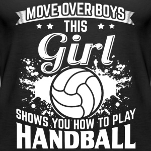 Handball MOVE OVER boys - Women's Premium Tank Top