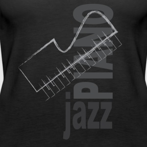 Jazz Piano - Vrouwen Premium tank top