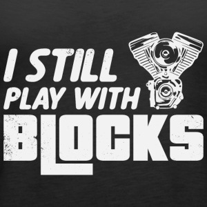Play with block engine - Women's Premium Tank Top